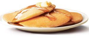 朝マック「ホットケーキ」