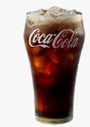 マクドナルド「コカ・コーラ」