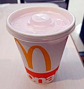 マクドナルド「マックシェイク紫いも」2018年9月26日から2