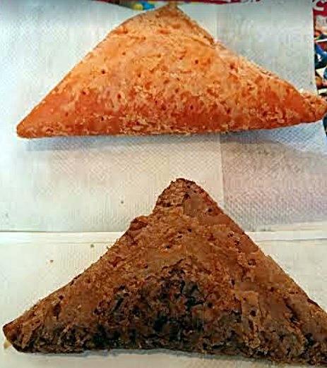 マクドナルド三角チョコパイ実物2