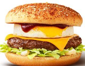 マクドナルド「チーズロコモコバーガー」