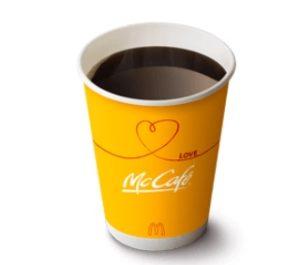 マクドナルドクーポンコーヒー