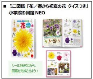 ハッピーセット絵本「花/春から初夏の花(クイズ付)」2021年4月16日から
