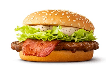 マクドナルドの新商品「黒胡椒てりやき」2021年5月
