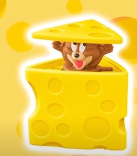 マクドナルドハッピーセット「チーズにかくれたジュリー、トムとジェリー」2021年5月