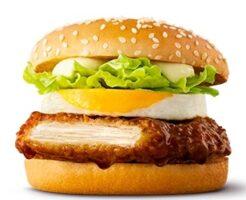 マクドナルドの新商品「おやこてりやき」2021年5月