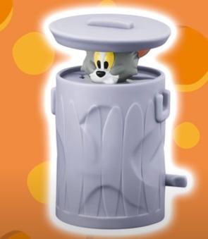 マクドナルドハッピーセット「ゴミ箱にかくれたトム、トムとジェリー」2021年5月