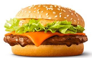 マクドナルドの新商品「赤辛てりやき」2021年5月
