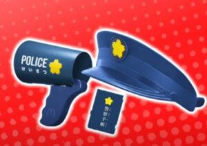 ハッピーセットなりきりプロキット第1弾「警察官」
